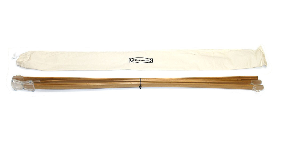 Bamboo X Small Portable X Banner Stand