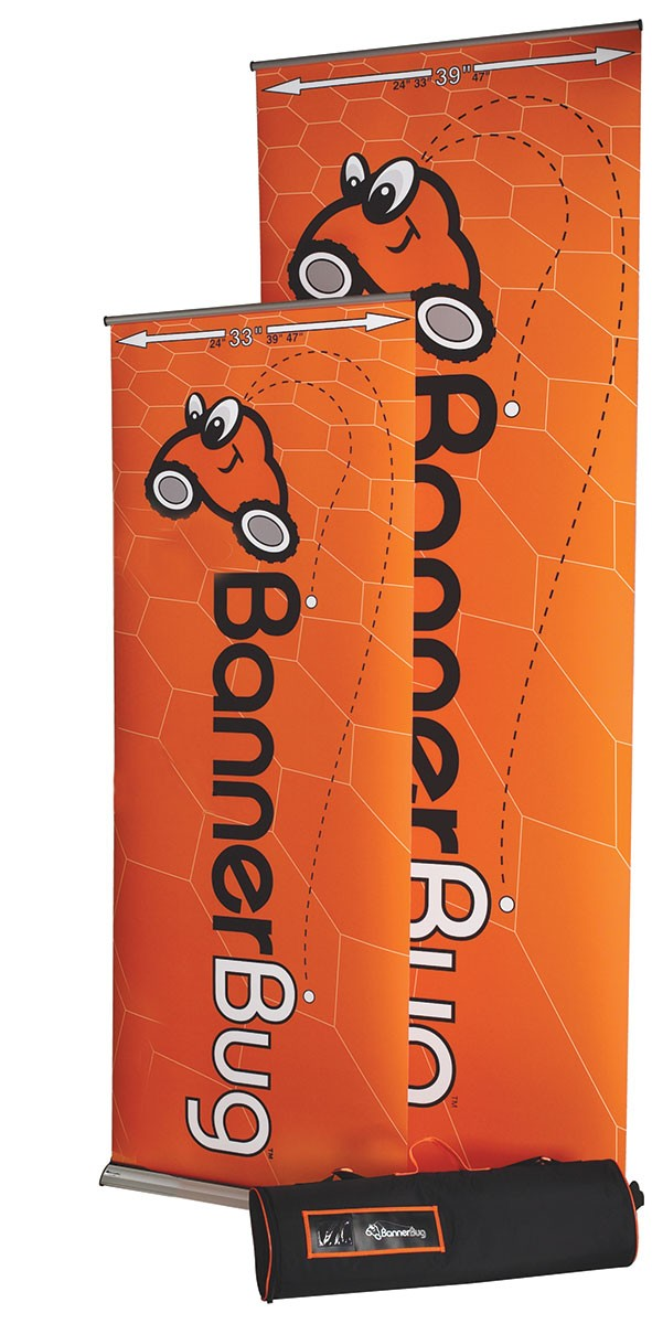 Banner Bug Giant Retractable Banner Stand