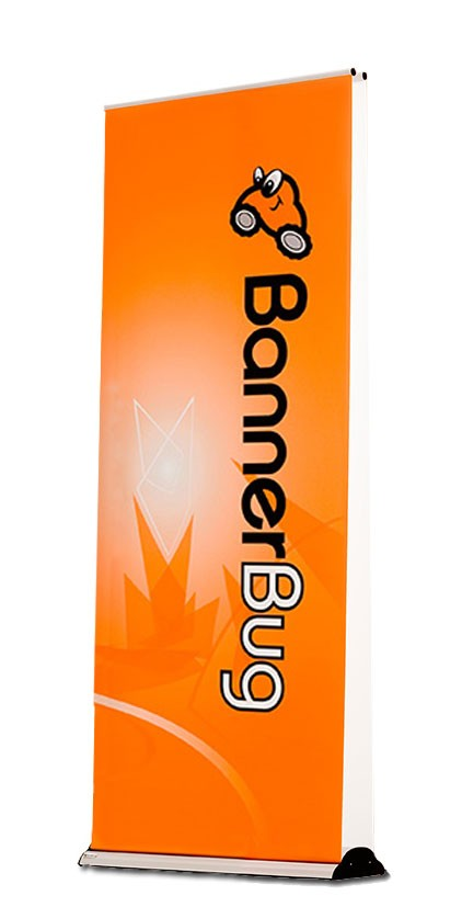Banner Bug Baby Double Two Sided Retractable Banner Stand