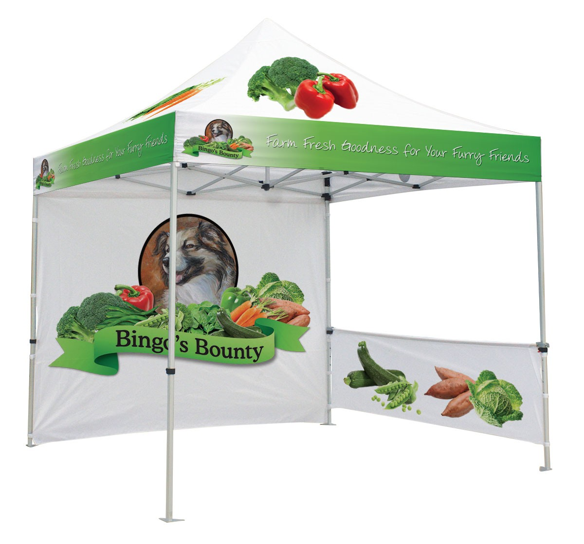 Canopy Tent Kit will full custom printed top and walls ...  sc 1 st  Banner Stand Pros & Canopy Tent Kit | BannerStandPros.com