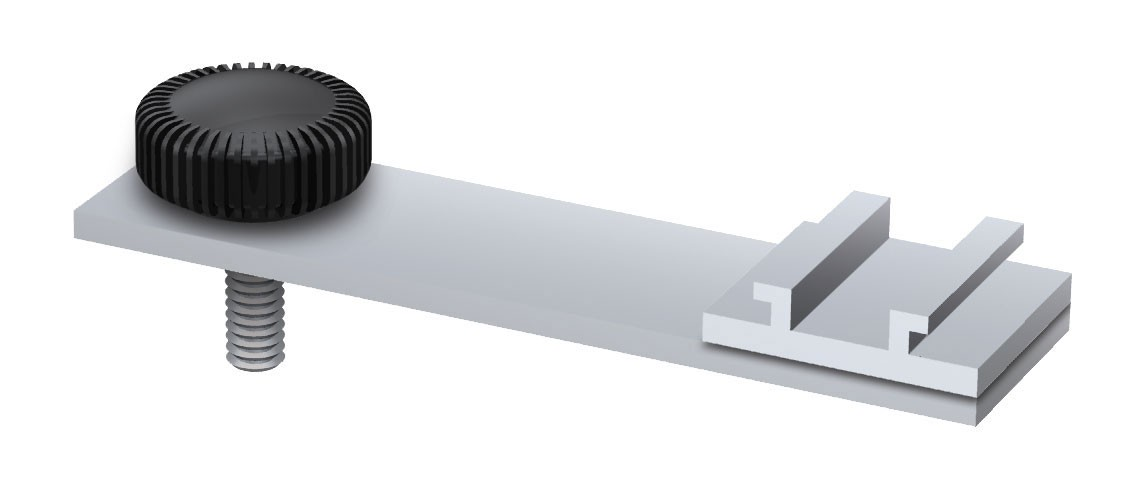 Cascade LED Display Light Mercury Bracket