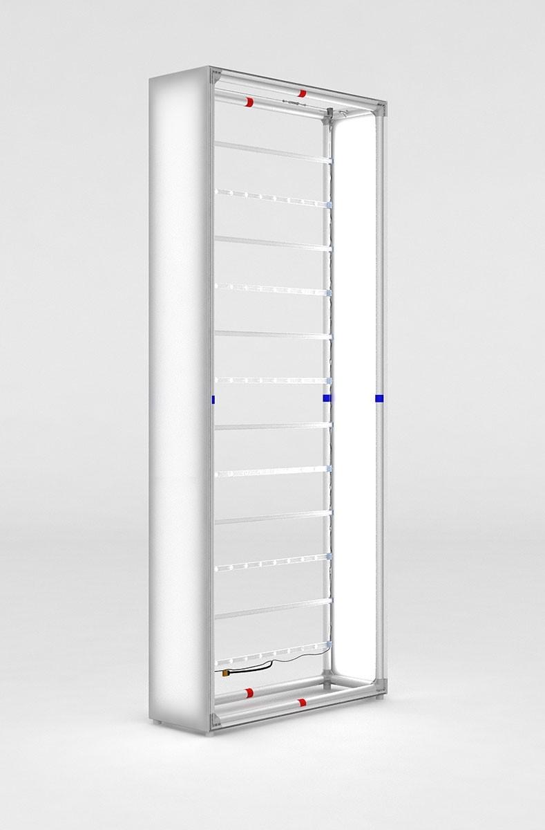 Casonara 4 Backlit SEG Display