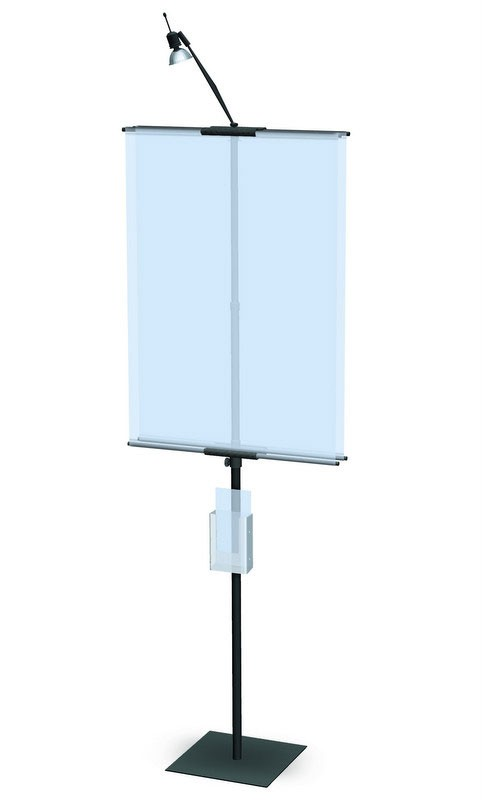Classic Banner Stand 24 Portable Banner Stand