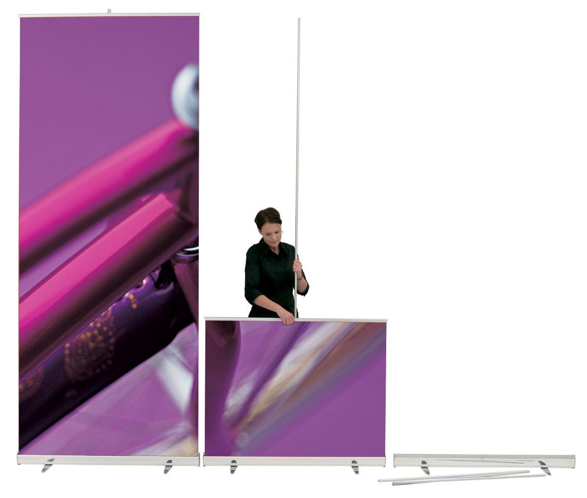 MediaScreen XL 39 Retractable Banner Wall