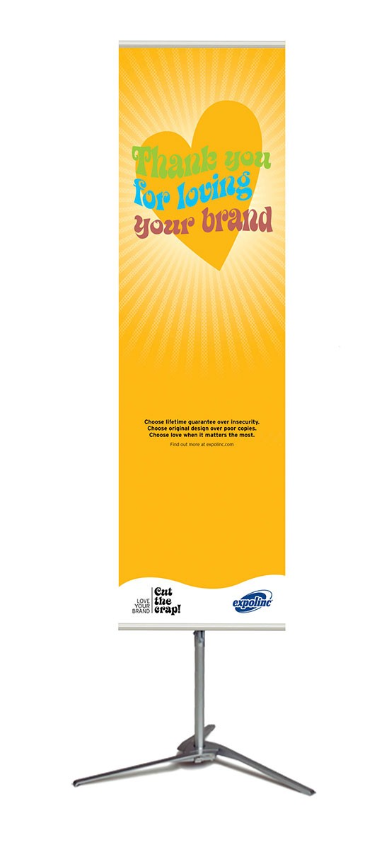 Expolinc Pole System 21 Portable Banner Stand