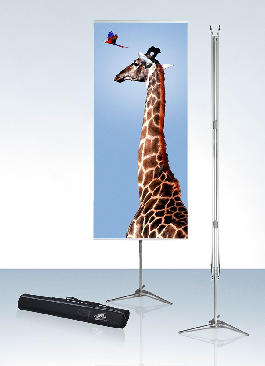 Expolinc Pole System 33 Portable Banner Stand