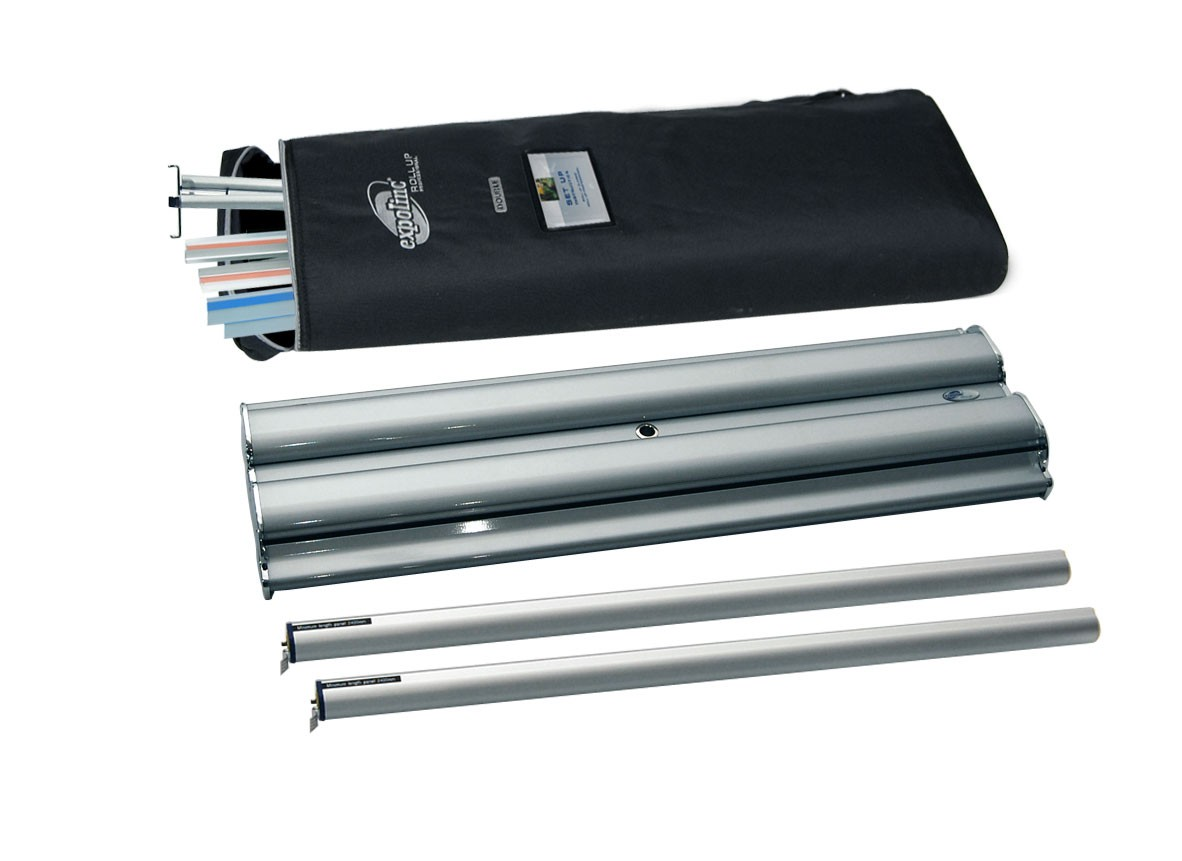 Expolinc Roll Up Professional Double two sided retractable banner stand