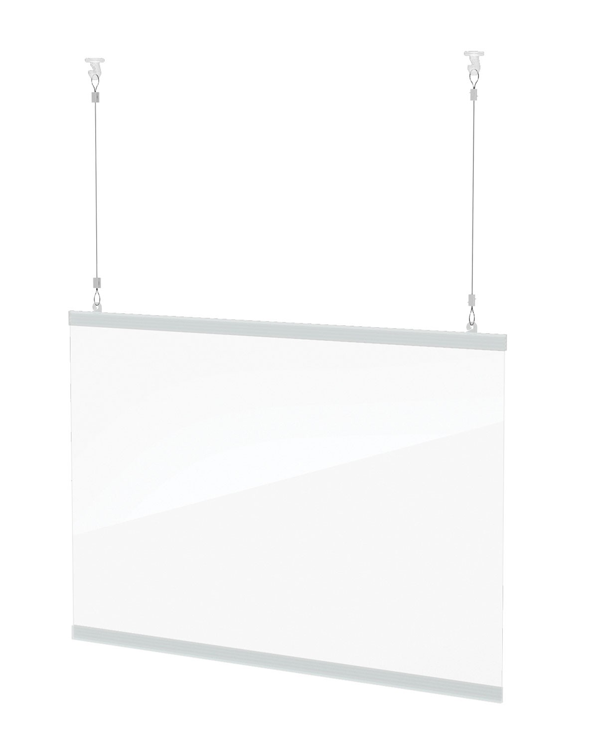Clear Hanging Shield