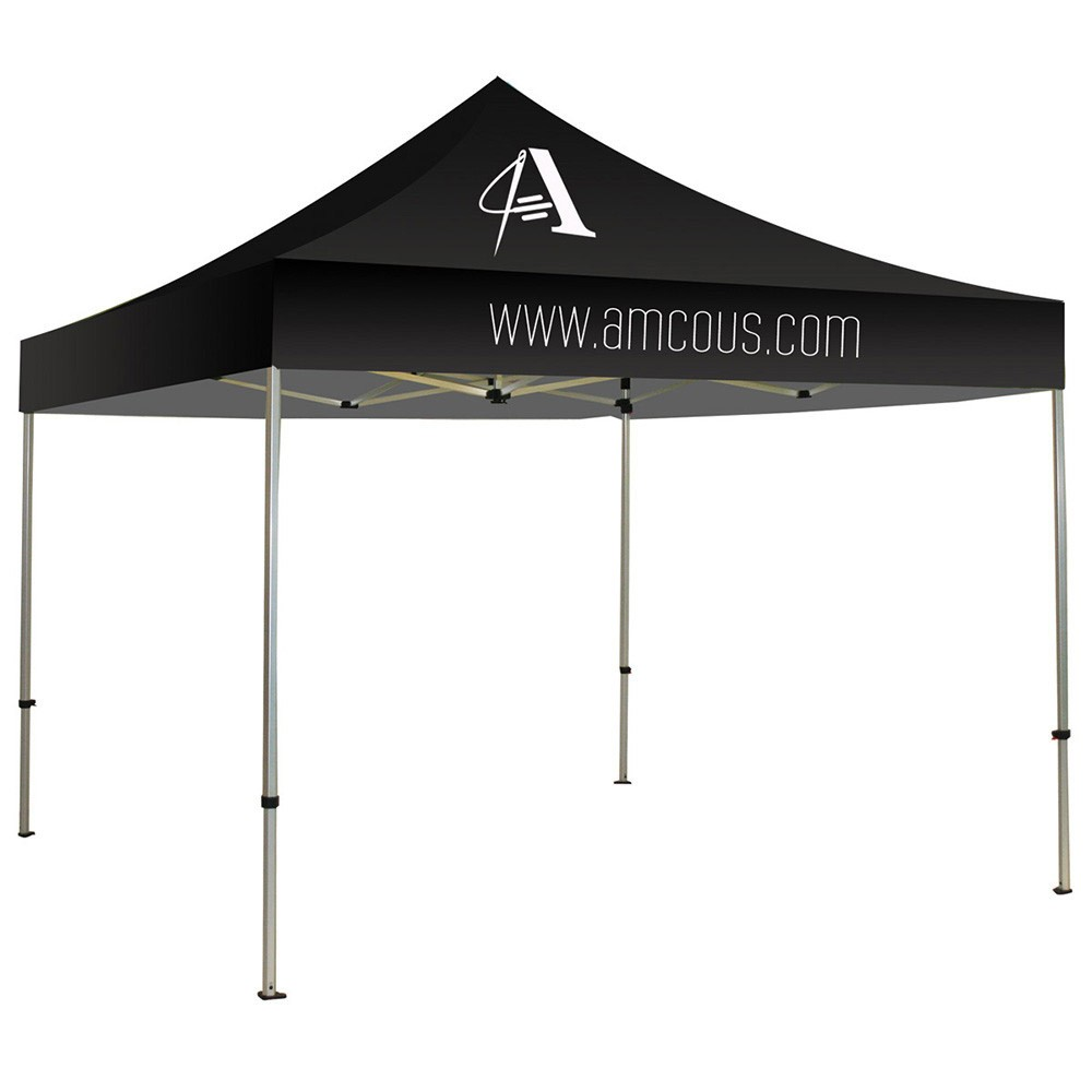 Solid Color Imprinted Canopy Tent Kit | BannerStandPros.com