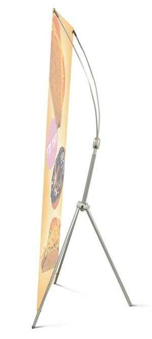 Magic Banner Large Adjustable X Banner Stand