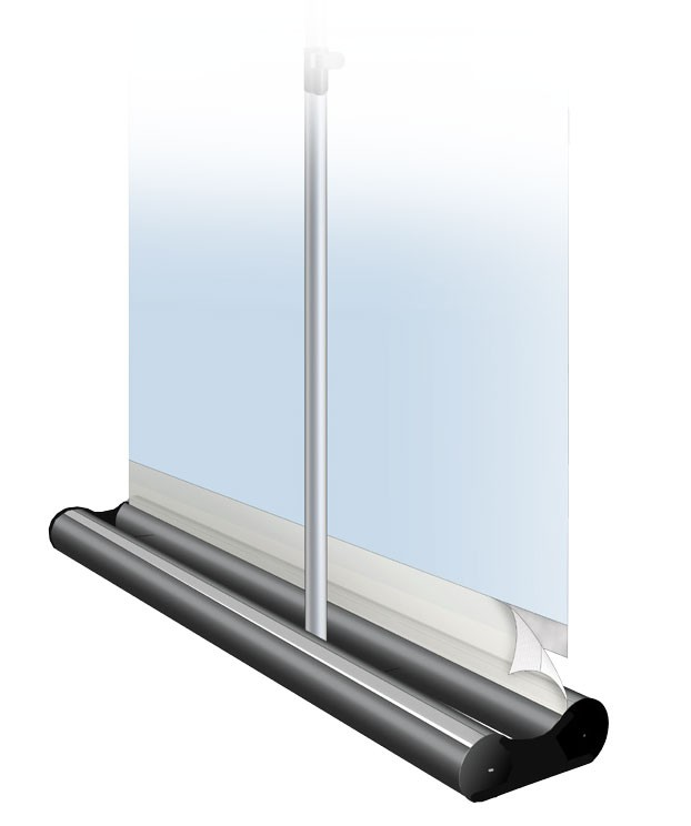 Mercury Double 24 Two Sided Retractable Banner Stand