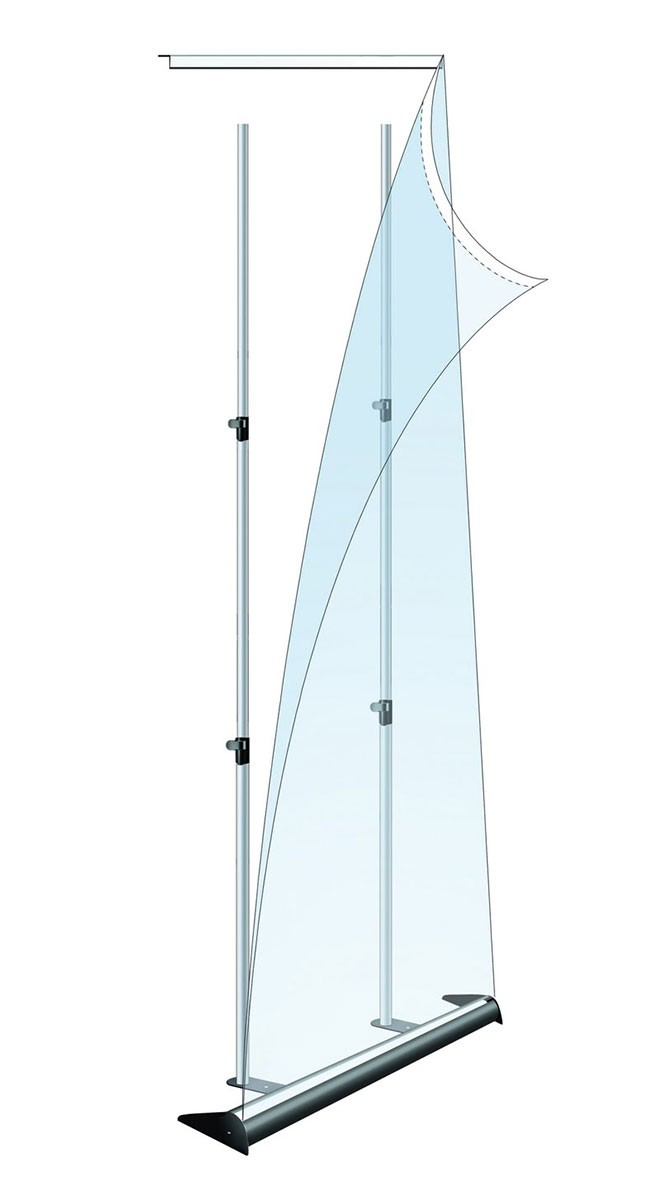 Mercury 60 Retractable Banner Stand