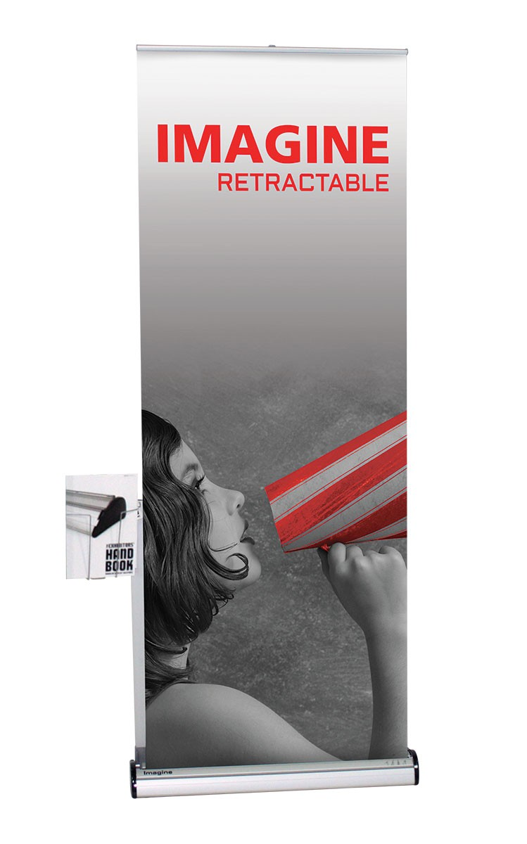 Orbus Banner Stand Literature Pocket Kits