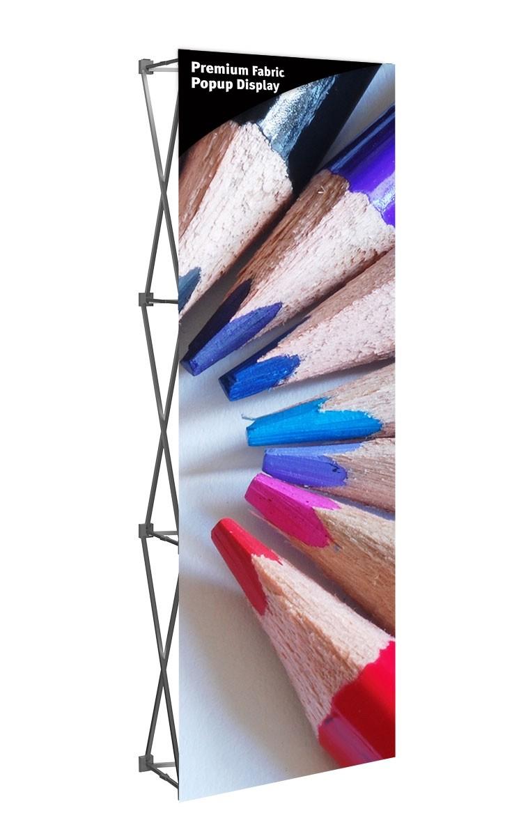 Premium Fabric Popup 2.5' Display