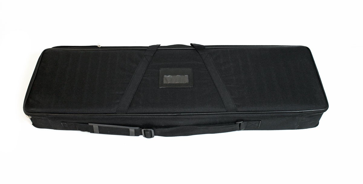 Space Dual double sided retractable banner stand carry bag