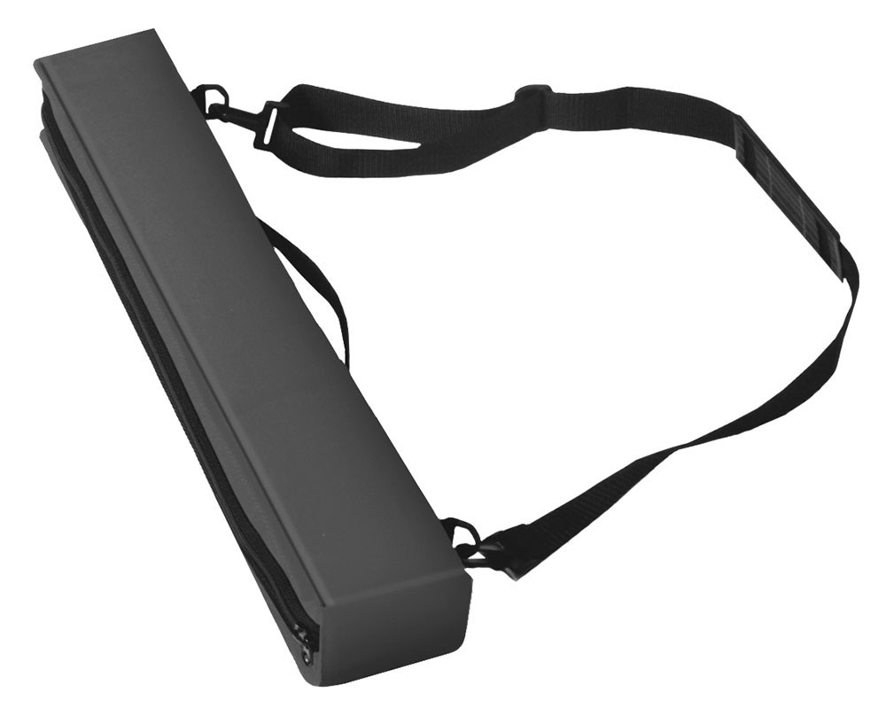 Portable banner stand light case