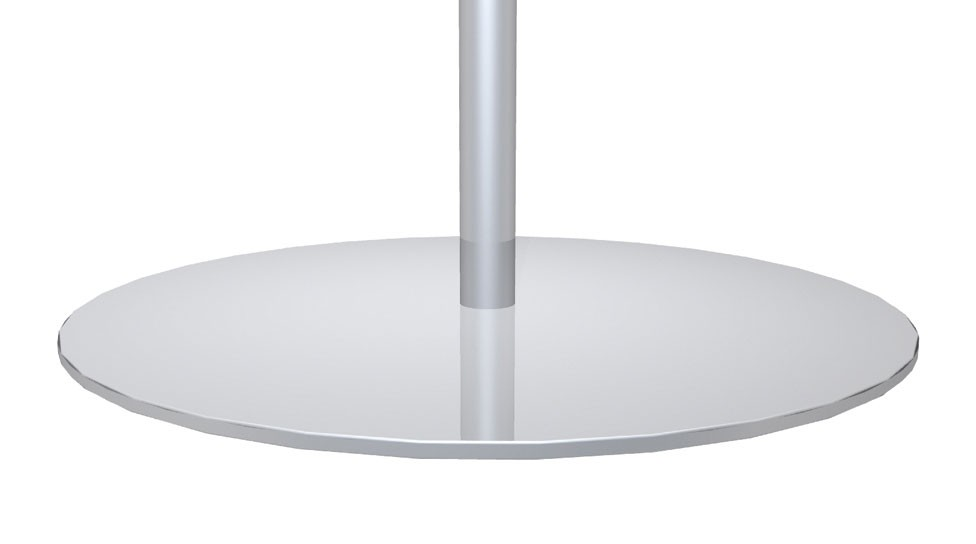 Classic Banner Stand 24 Round Base