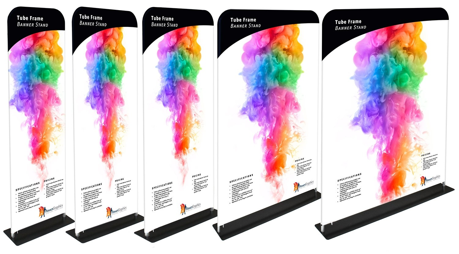 Tube Frame Banner Sizes