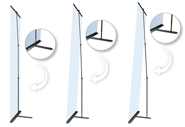 Ultra Banner Stand 36 Portable Banner Stand