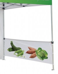 Replacement Solid Color Canopy Full Wall