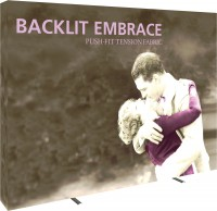 Embrace Backlit 10' Tension Fabric Display