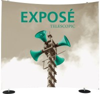 Exposé Curve Telescopic Banner Stand