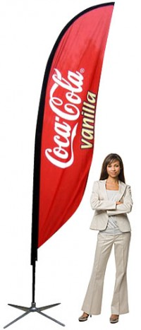 Feather Banner Small Outdoor Banner Stand