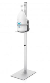 Foot Operated Hand Sanitizer Pump Dispenser Stand