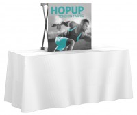HopUp 2.5'x2.5' Tension Fabric Table Top Display