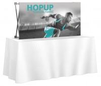 HopUp 5'x2.5' Tension Fabric Table Top Display