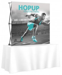 HopUp 5'x5' Tension Fabric Table Top Display