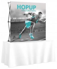 HopUp 5'x5' Tension Fabric Table Top Display