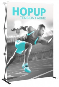Hopup 5' Tension Fabric Pop Up Display