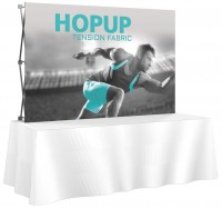 HopUp 8' Tension Fabric Table Top Display