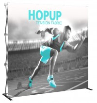 Hopup 8' Tension Fabric Pop Up Display
