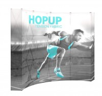HopUp 4x3 Backlit Graphic with End Caps