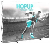 Hopup 10' Tension Fabric Pop Up Display