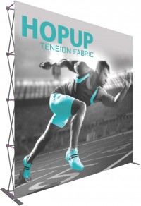 Hopup 10x10 Tension Fabric Pop Up Display