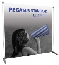Pegasus Telescopic Portable Banner Stand