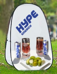 Pop Up A-Frame Vertical Large Outdoor Banner Stand