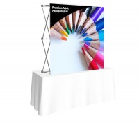 Premium Fabric Popup 5' x 5' Table Top Display