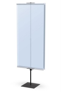 Promo Banner Stand Double