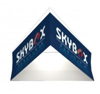 Triangle 10' Hanging Fabric Structure Replacement Graphic