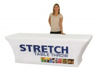 Stretch Table Cover for 8 foot Table
