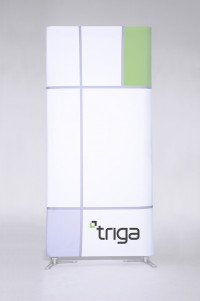 Triga 4x10 Straight Wall Tension Fabric Display
