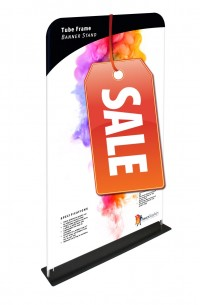 Tube Frame Banner 48 Tension Fabric Display