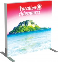Vector Frame Backlit Banner 3x3 Illuminated Tension Fabric Display