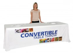 Convertible Table Cover for 6-8 foot Table
