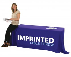 Imprinted Table Cover for 8 foot Table