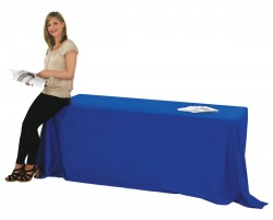 Blank Table Cover for 8 foot Table